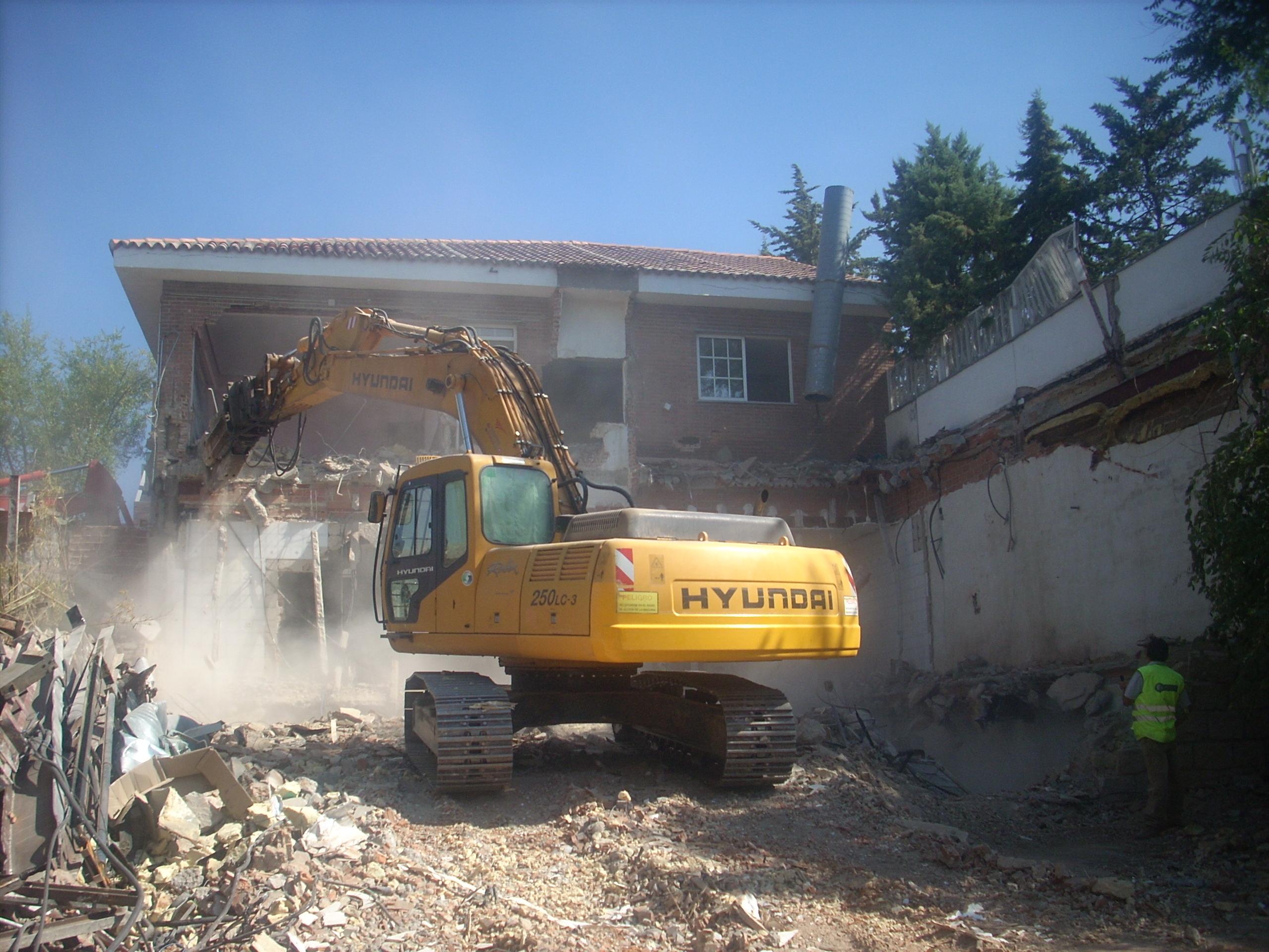 Demolición Salones Europa
