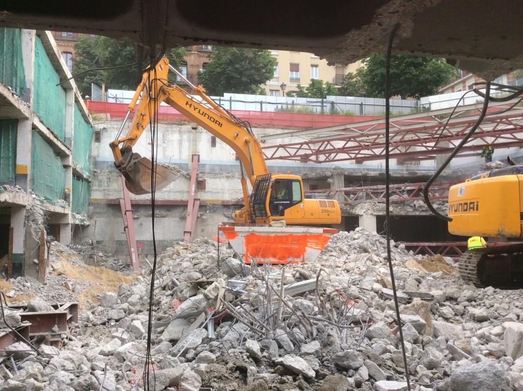 Demolición-Cazo